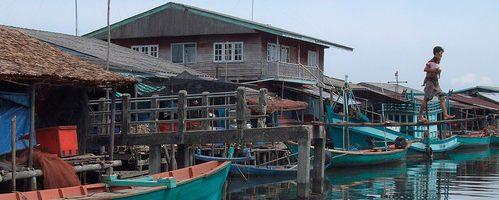 Камбоджа Провинция Кронг Кох Конг пляжи