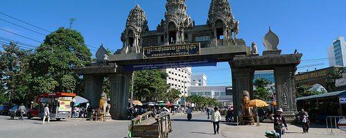 Камбоджа Пойпет граница с Тайландом