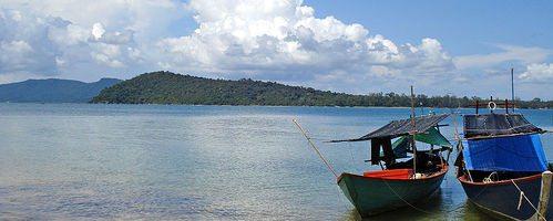 Сиануквиль Камбоджа пляжи острова