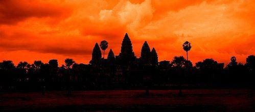Камбоджа Cambodia Ангкор Пномпень Сием Рип