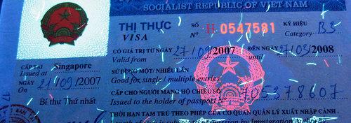 Виза билеты во Вьетнам