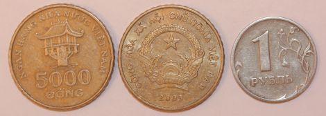 монета 5000 донг