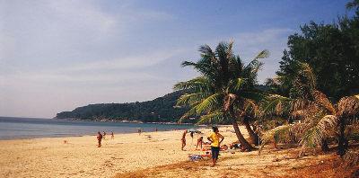 Тайланд Пхукет пляжи Карон