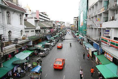 Тайланд, Бангкок, район Пхахурат