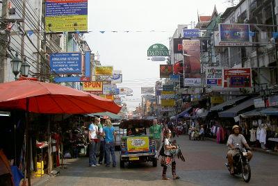 Тайланд, Бангкок, КаоСан Роад