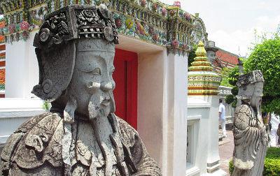 Тайланд Бангкок, храм Ват Пхо