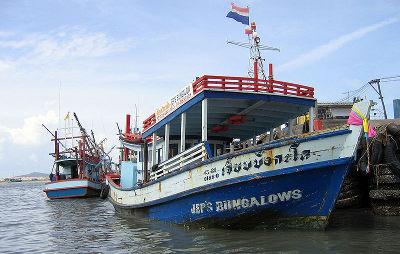 Тайланд, транспорт на остров Ко Самет