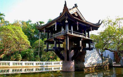 Вьетнам, Ханой - Пагода Одного Столпа