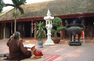 Вьетнам, Ханой - Пагода Тран Куок