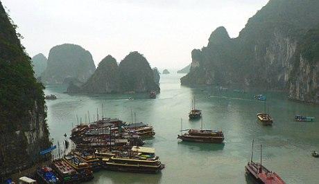 Вьтенам, Халонг Бэй, Северо-восточный Вьетнам, Бухта Халонг