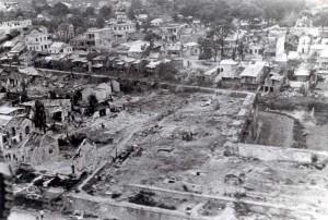 Вьетнам. Хюэ в руинах после Тетского Наступления